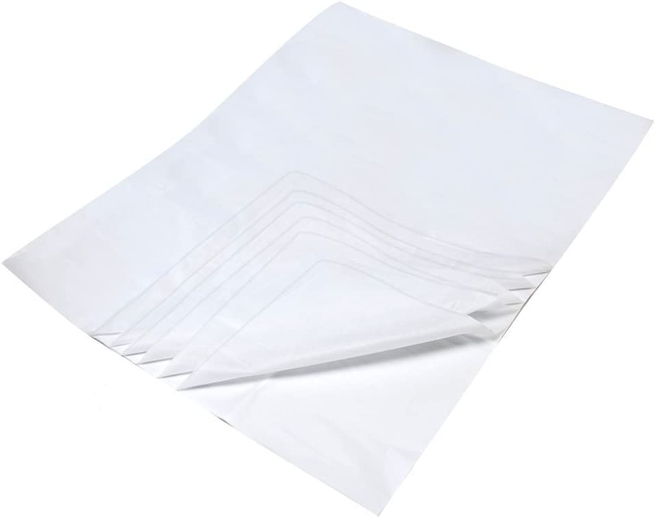 100 x SHEETS OF WHITE ACID FREE TISSUE PAPER 375 x 500mm *Fast Delivery*