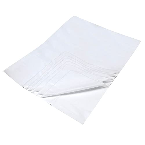 White Acid Free Tissue Paper x 25 sheets 17gsm Machine Glazed 50x75cms from Caraselle