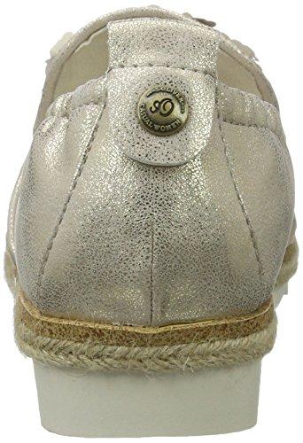 Dames S.oliver 24625 Beige Pantoufle (champag. Sequ. 403)
