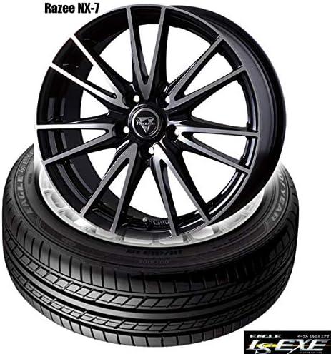 グッドイヤーEAGLE LS EXE〈225/45R18 91W〉& Razee NX-7〈18×7.0 +55 114.3 5H〉|タイヤホイール4本セット