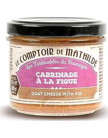 Mousse De Queso De Cabra Con Higos Y Aceitunas, 90 g,