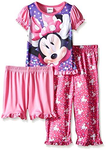 Disney Minnie Confetti 3 Piece Pajama