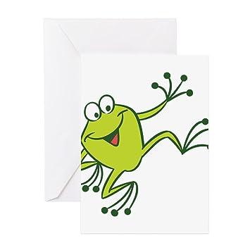 Cafepress dancing frog greeting cards greeting card note card cafepress dancing frog greeting cards greeting card note card birthday card m4hsunfo