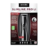 Andis Barber Grooming Cutting Black SlimLine Pro Li T-Blade Trimmer CL-32475