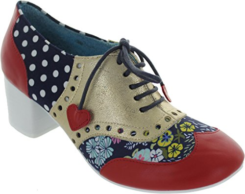 Poetic Licence Women's Clara Bow Composition Leather Lace UPS 5JB0ISa