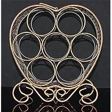 FW High profile heart-shaped wine rack wire technology fashion wine rack