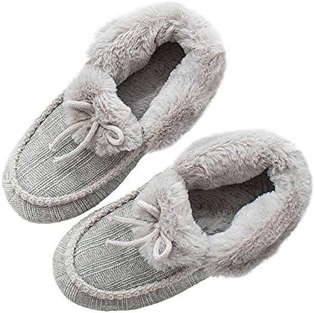 Thgonwid Womens Cute Sheep Plush Lining Soft Warm Home Shoes Slippers Pink 6.5-7.5 US