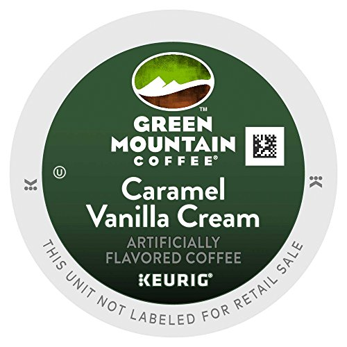 Green Mountain Coffee Caramel Vanilla Cream, K-Cup Carve up Count for Keurig K-Cup Brewers, 24-Count
