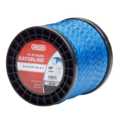 Oregon 20-111 Platinum Gatorline 1-Pound Spool String Trimmer Line 0.130-Inch Gauge