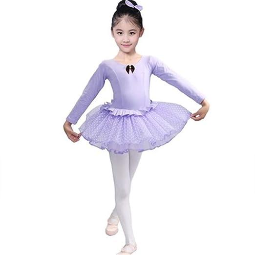 Faldas de danza para niña, Equipo femenino Vestido de ballet de ...