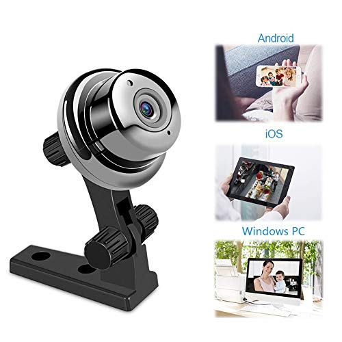 Tookne Baby Monitor 720P Home WiFi Security Camera Motion Detection with Night Vision 2-Way Audio Compatible with iOS/Android for Baby/Elder