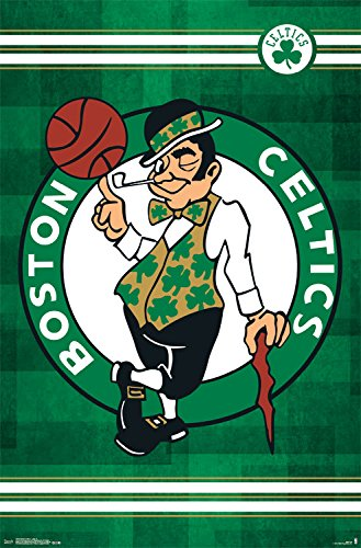 Trends International Boston Celtics Logo Wall Poster 22.375