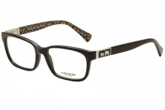 297e9fb254 Amazon.com  Coach Women s HC6062 Eyeglasses Black Black Military Sig ...