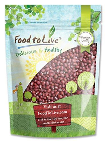 Food to Live Adzuki Sprouting Beans (1 Pound)