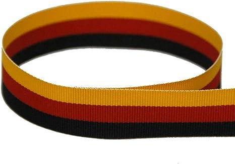 "5 Yd Patriotic Tri Stripe Red White Blue Striped Grosgrain Ribbon 5//8/""W"