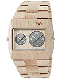 WEWOOD watch Wood / wooden JUPITER rs BEIGE Dual Time 9818071 Men's [regular imported goods]