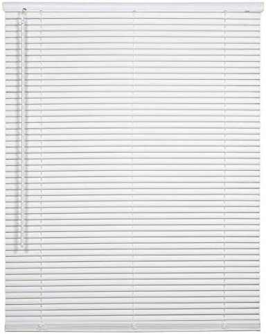 spotblinds Cordless 1 Inch Custom Made Aluminum Mini Blind Choose Your Size, Mount Color 66 1 8 Thru 72 , 54 1 8 Thru 60