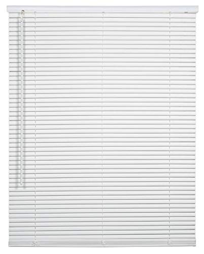 spotblinds Cordless 1 Inch Custom Made Aluminum Mini Blind Choose Your Size, Mount & Color (60 1/8″ Thru 66″, 24″ Thru 36″)