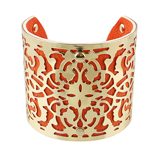 Feelontop Colored Leather Bracelets Bangles product image
