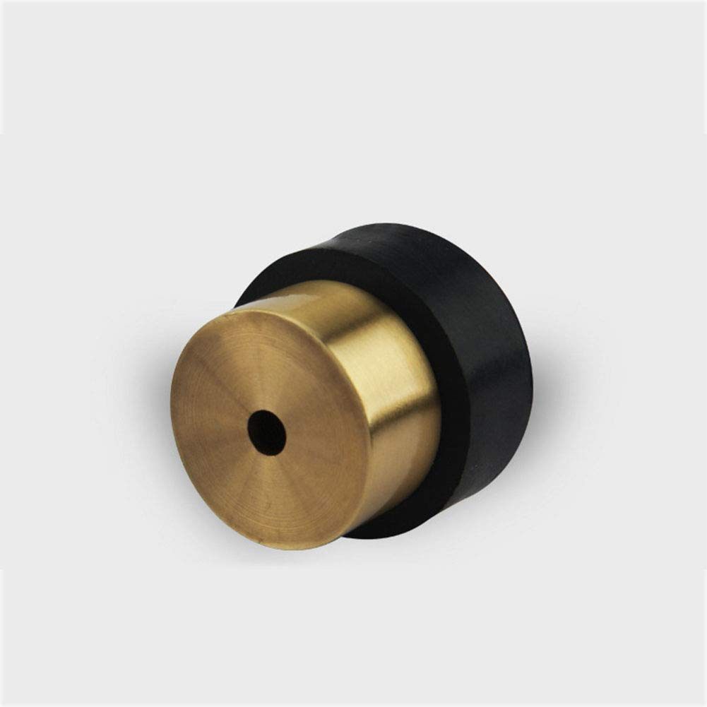OUYAWEI Door Stopper Door Stop Bumper Wall Protector Brushed Surface Stopper for Home Bathroom Supplies Brushed Gold