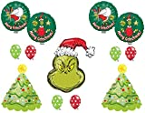 HOW THE GRINCH STOLE CHRISTMAS Party Balloons Decorations Supplies Dr. Seuss