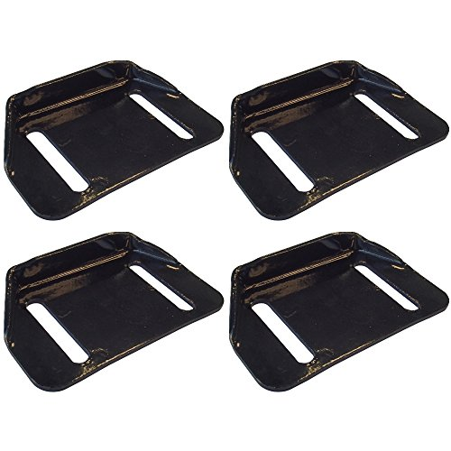 784-5580 Set of 4 Skid Shoe Replacements for MTD Snow Blower (Snowblower Replacement)