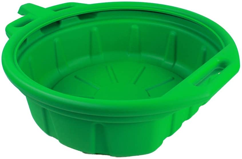 Capri Tools CP21023 Portable Oil Drain Pan, Anti-Freeze, Green