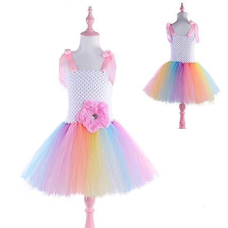 Faldas de danza para niña, Niñas bebés Princesa Vestido Niños Sin ...