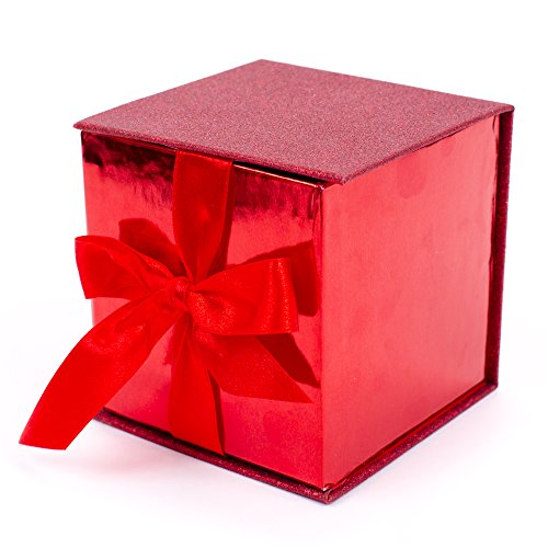Hallmark Signature Small Gift Box with Fill Red Glitter