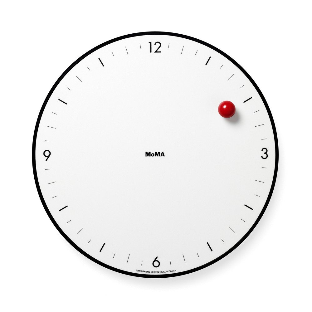 Mo Ma Timesphere Clock by Mo Ma