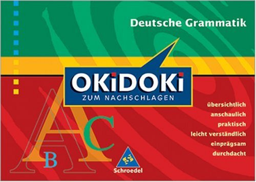 Okidoki zum Nachschlagen/Deutsch: Deutsche Grammatik