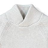Hope & Henry Boys' Raglan Sweater with Crossed Collar