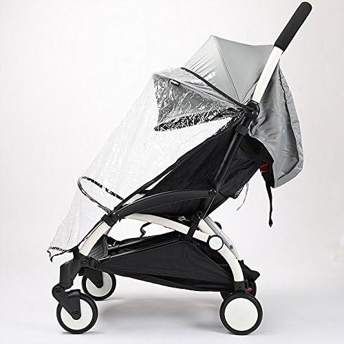 Universal bebé accesorio de paseo cochecitos de bebé Lluvia Viento Viento Covers buena calidad polvo protector barato precio bebé strolller Rain Coat car-covers mitad estilo