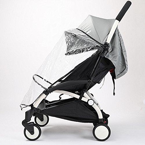 Universal bebé accesorio de paseo cochecitos de bebé Lluvia Viento Viento Covers buena calidad polvo protector barato precio bebé strolller Rain Coat car-covers mitad estilo Ltd.
