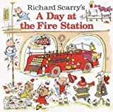 img - for [(A Day at the Fire Station )] [Author: Richard Scarry] [Jun-2003] book / textbook / text book