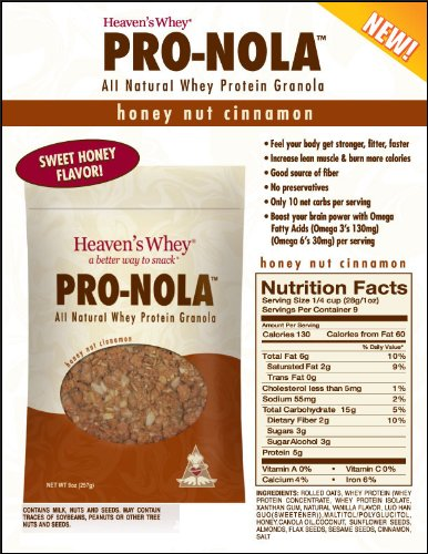 Amazon.com: Cielos Whey – pro-nola Miel Frutos Secos Canela ...