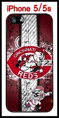 Cincinnati Reds iPhone 5 5s Case Hard Silicone Case