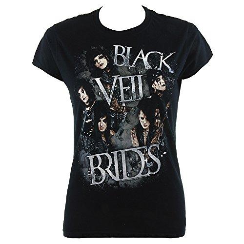 Elasticizzata Overcast Brides Veil Black nero Shirt T Nero Iaxwq