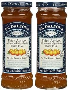 St. Dalfour Apricot Conserves, 10 oz, 2 pk