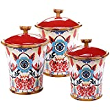 Wanderlust 'Imperial Bengal' Canisters (Set of 3)