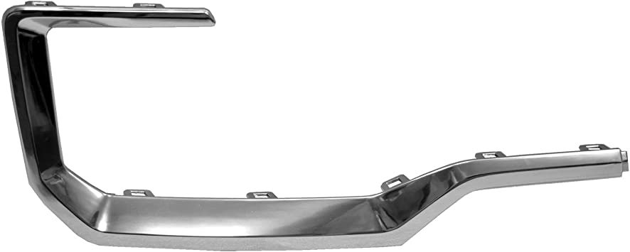 2016-2017 Gmc Terrain Rear Passenger Side Bumper Cover Molding; Chrome; Made Of Plastic Partslink GM1147109