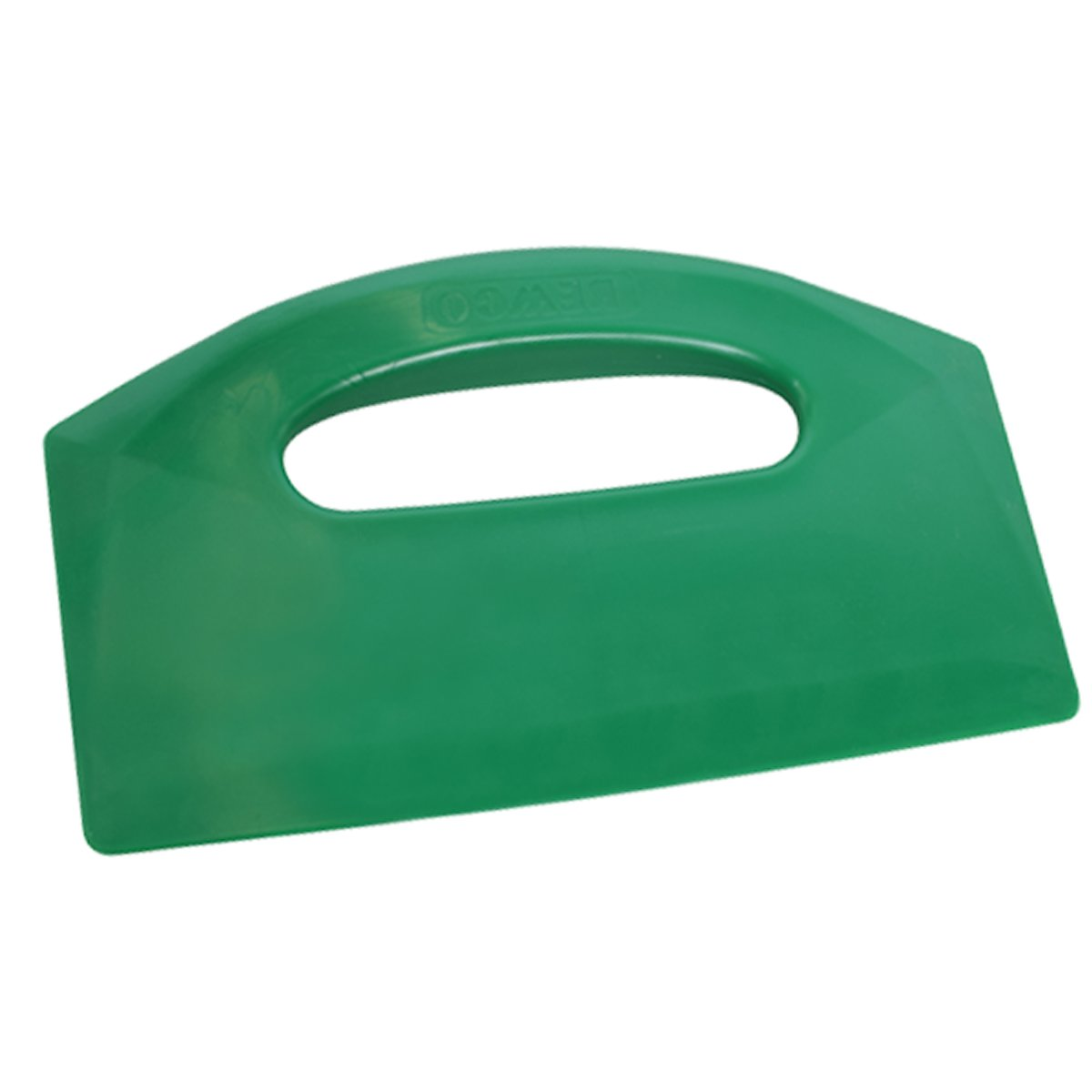 UltraSource Bowl/Bench Scraper, Green, 8.5'' x 5.5''