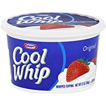 Kraft Frozen Cool Whip Whipped Topping, 12 Ounce - 12 per case.