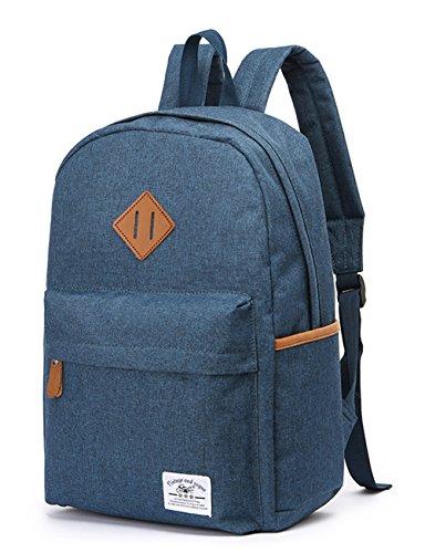 Travel Outdoor Computer Backpack Laptop bag big (blue) - 8