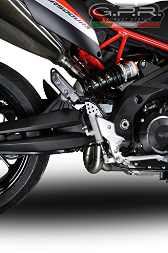 Aprilia Dorsoduro 900 2017-2018 GPR Exhaust Decat Pipe New