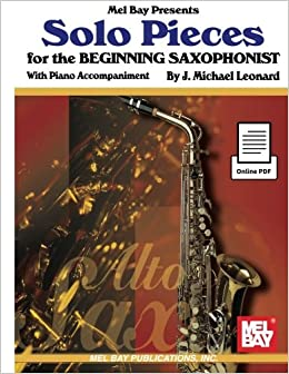 Book Solo Pieces for the Beginning Saxophonist