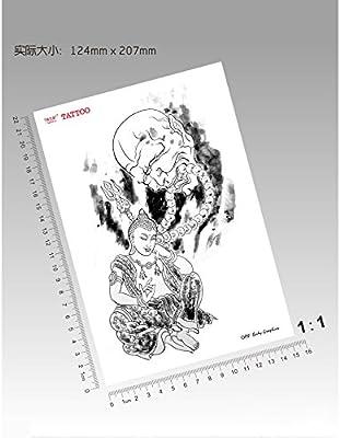 Zokey impermeable tatuaje temporal budismo tibetano budista ...