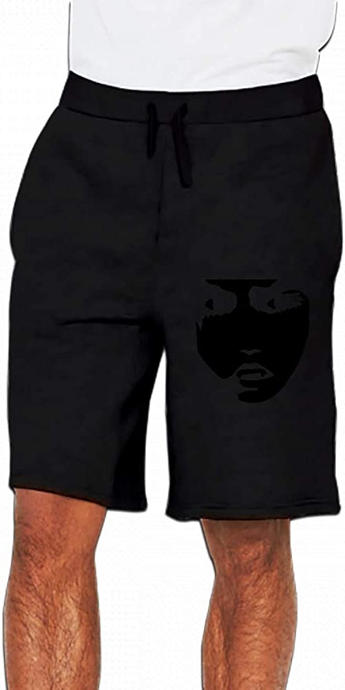 JiJingHeWang Fangs Invert Mens Casual Short Trouser