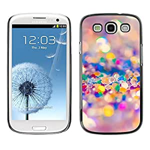 Hot Style Cell Phone PC Hard Case Cover // M00100140 colorful glitter abstract // Samsung Galaxy S3 i9300