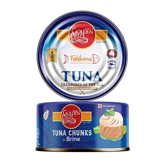 Golden Prize Tuna Chunks in Brine, 185g